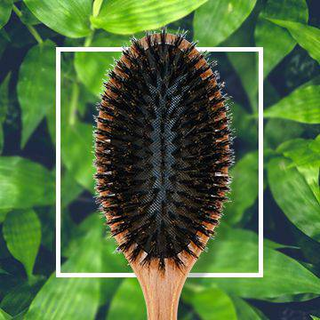 Wooden combs for hair