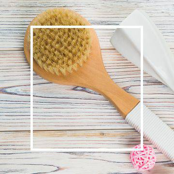 Massage brushes